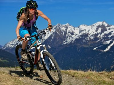 Mountainbiken in Kappl Tirol