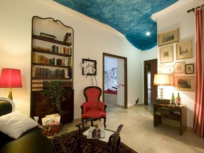 Villa Borghese & Parioli area apartment rental - View from the entrance