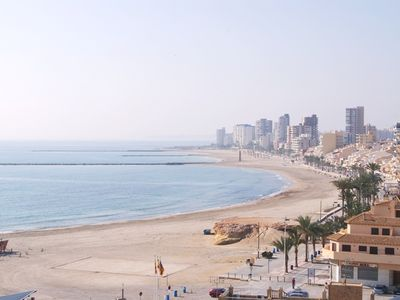 El Campello apartment rental - views from terrace and living room
