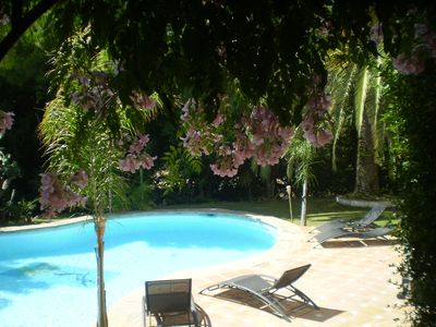 Beautiful private villa, surrounded by mature gardens with large pool