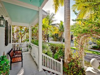 Key West house photo - The front porch is a nice place to just relax for a bit.