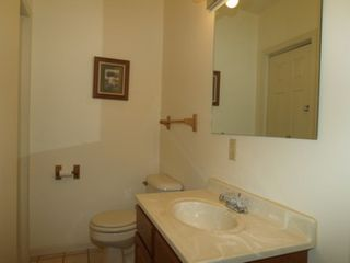 Onekama condo photo - Half bath located on main floor