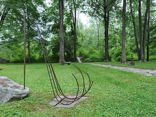Plattekill house photo - Sculpture garden