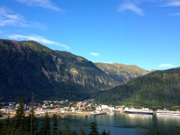 Juneau house rental - The view says it all! Take in the absorbing panorama.
