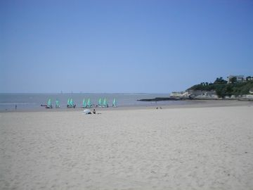 Meschers beach, sailing lessons