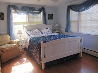 Hyannis - Hyannisport house photo - Master bedroom with Queen bed and cable TV