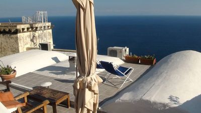Apartment with magnificent view of Amalfi