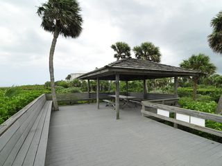 Vero Beach house photo - Picnic area at private beach