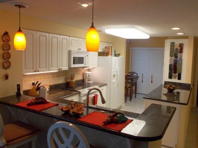 Large renovated Kitchen with Granite Counters