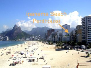 Ipanema apartment photo - Located the very first block from Beach