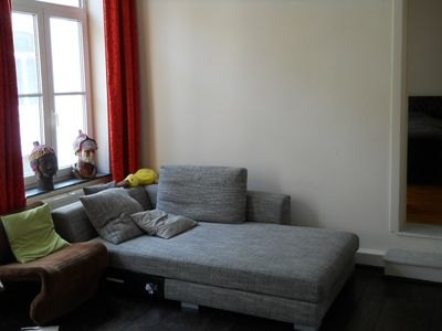 Brussels apartment rental - Living room