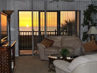 Treasure Island condo photo - evening sunset view
