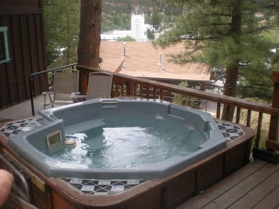 shared hot tub