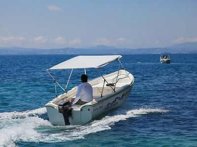 Agios Stefanos house rental - You Can Rent a Boat (No Licensed Required)