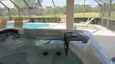 A new hot tub was installed in March 2014