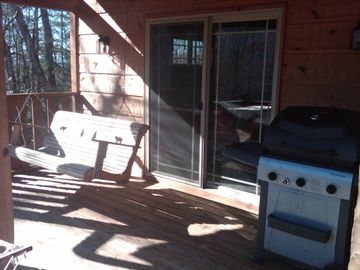 Front Porch, Swing, and Grill