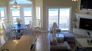 North Topsail Beach house photo - This luxury home is professionally decorated.