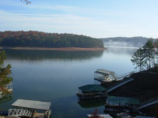 Lake Allatoona studio photo - This is Island Mill Bend - Winter Lake Level