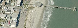 Tybee Island condo photo - Aerial View Of Condo Look For Red Arrow