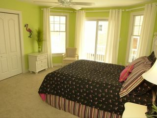 Cape Charles house photo - Flamingo Room Bedroom 2