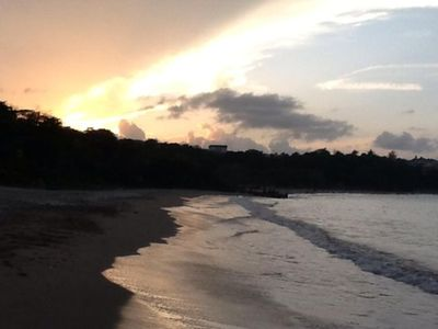 Ocho Rios villa rental - Rio Nuevo beach. Our closest local beach just a 10 minute walk away.