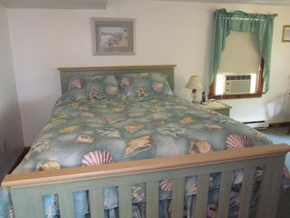 Plum Island house photo - Queen size bed in master bedroom