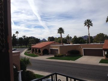 Boulders Scottsdale house rental - Views from Private balcony off master bedroom
