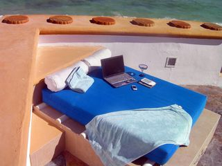 Work on your tan while working on your job - with Cisco Wifi & Vonage phones - Playa del Carmen house vacation rental photo
