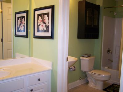 Second Master Suite With Full Bath and Secondary Sink Area