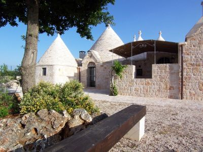 Trullo front entrance