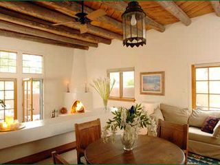 Santa Fe house photo - Vaulted ceilings & Viga Beams - Santa Fe, NM