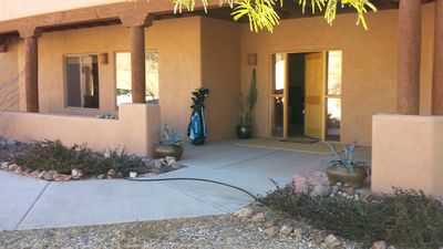 Front of house...Golf anyone?