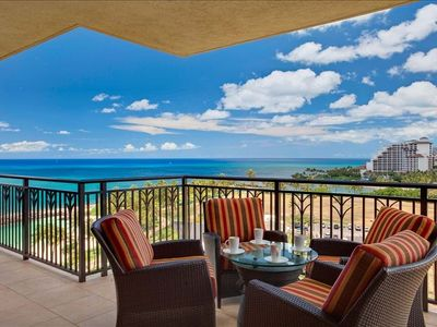 Relaxing, private Lanai is the perfect place to slow down and reconnect.