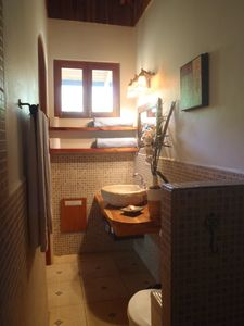 Private, roomy bathrooms with great walk in showers~hot water!