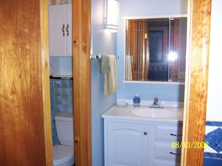 Cooperstown apartment photo - Bathroom/dressing area/shower