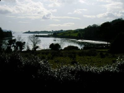 View of Dunmanus Bay from the garden