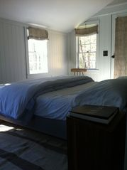 Chatham farmhouse photo - Main House lower guest bedroom.