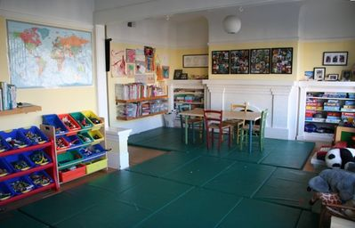 Playroom on 2nd floor