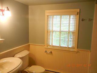 Downstairs full bathroom - East Orleans house vacation rental photo