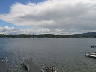 Laconia house photo - Breathtaking 180 views of the lake!
