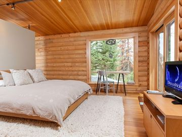 Master Bedroom-Walk out to Deck- Great Windows