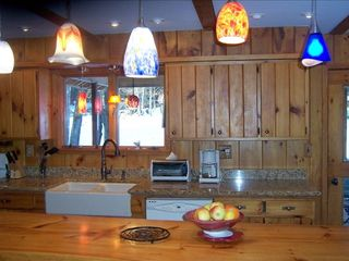 Woodstock cabin photo - Our spacious Kitchen