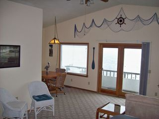 Munising villa photo - Living and dining area