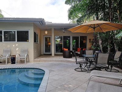 Fort Lauderdale house rental - Patio / Pool Area