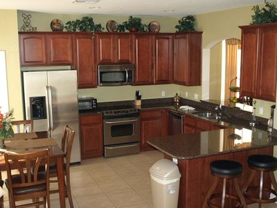.Fully equipped kitchen with all the latest appliances