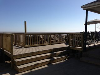 Oak Harbor cottage photo - The bench on the boardwalk is the PERFECT place to watch sunsets!!