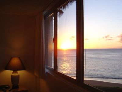 Sunset View from Master Bedroom
