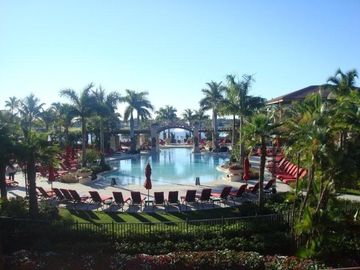 PGA National hotel pool-65 million USD renovation of club/hotel/spa 2009