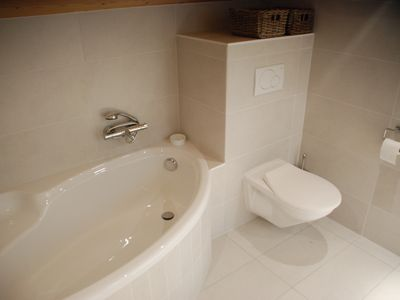 Val-d'Illiez apartment rental - The bath and toilet