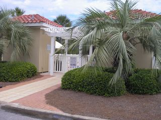 Destin house photo - Entrance to one of two community pools